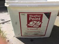 Weather point patio jointing material - Black