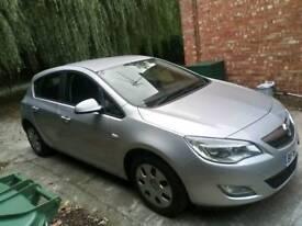 2010 Vauxhall astra j 1.4i petrol fsh mk6 newer shape