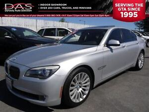2010 BMW 7 Series 750XI PREMIUM NAVIGATION/LEATHER/SUNROOF