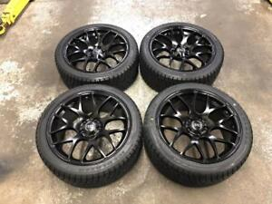 """18"""" VMR Wheels 5x112 and Winter tire Package 245/40R18 (AUDI Cars) Calgary Alberta Preview"""