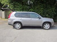 Nissan X-Trail 57 plate 2.0 dCi 4x4 Sport Expedition 5dr 5 seats SatNav Rear parking camera