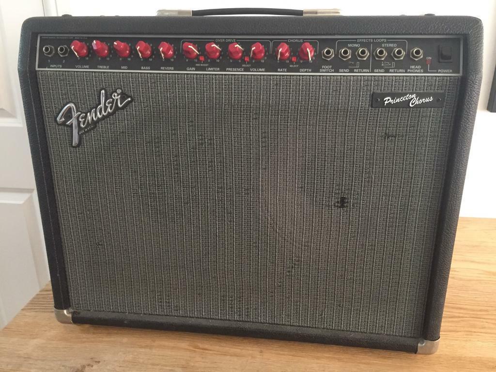 Fender Princeton Chorus Guitar amp - £110 | in Acton, London | Gumtree