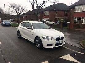2014 BMW 1 series m sport 135i 3 months warranty left . highest spec Px for x6, ml, Audi A7,