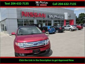 2008 Ford Edge panoramic moon roof, heated 2 tone leather seats