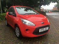 Ford Ka Stop Start 1.2 3 door in Red New MOT £30 a year RFL