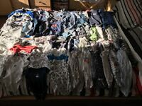 Bundle of 0-3 months boys clothing. Over 100 items!