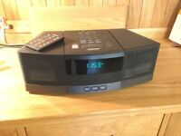 Bose Wave radio and CD player with remote for sale
