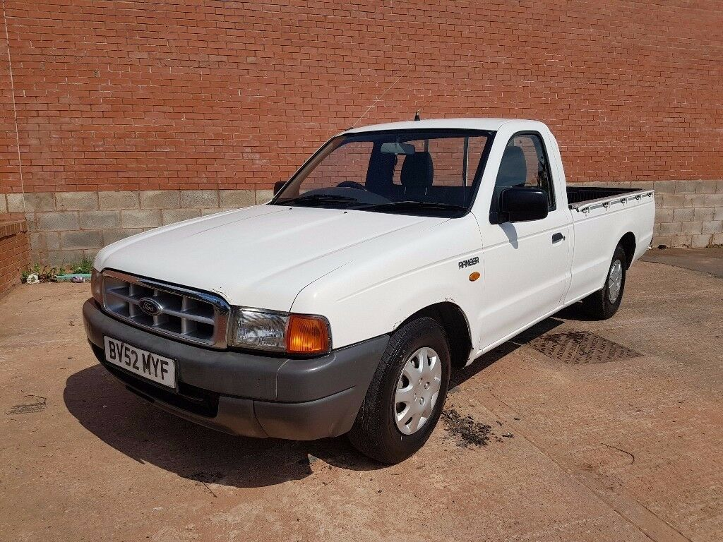 2002 ford ranger pick up 2wd 2 5 turbo diesel 80bhp 5 speed manual like mazda b2500