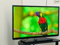 """Toshiba 40"""" Led Full Hd 1080P tv Freeview HD Hdmi Usb Excellent condition-Not Smart tv"""
