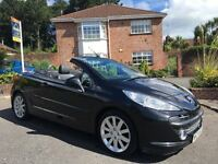 2008 PEUGEOT 207 GT CC 1.6 HDI ** CONVERTIBLE ** ALL MAJOR CARDS ACCEPTED