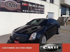 2011 Cadillac CTS 3.6L COUPE PREMIUM AWD NAV ROOF *CERTIFIED*