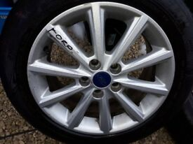 Focus 16 inch alloy and tyre