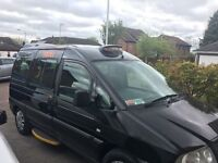 7 seater taxi, 3 months rushcliffe plate left. Drives perfect any inspection welcome