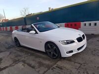 SUPERB BMW 320i COUPE M SPORT CONVERTIBLE ,FSH, 1 YEAR MOT EXCELLENT CONDITION