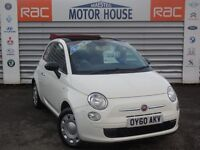 Fiat 500 C POP (£30.00 ROAD TAX) FREE MOT'S AS LONG AS YOU OWN THE CAR!!! (white) 2010