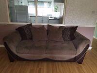 3 + 2 seater DFS sofa