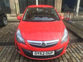 2012 Vauxhall Corsa sxi 1,2 petrol , Low mileage only 33k, Full service History, £2950
