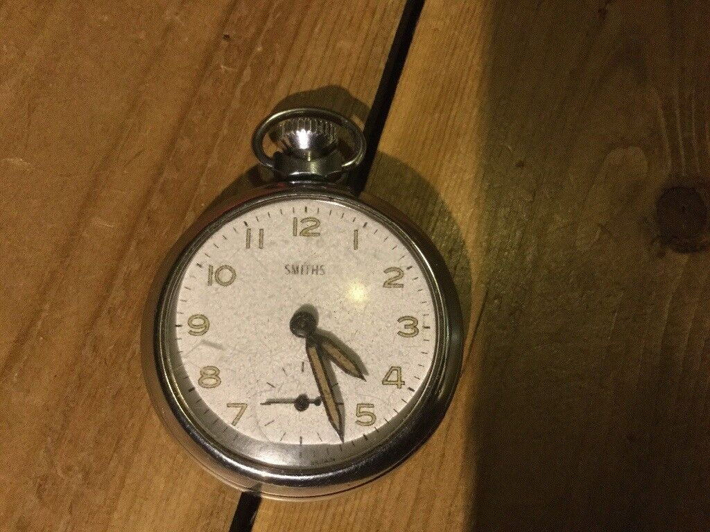 Smiths pocket watch with original box