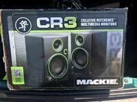 Mackie CR3 speakers