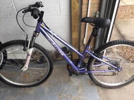 "Girls 24"" Apollo bike."