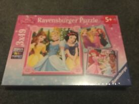 Disney princess jigsaw set
