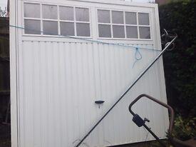 Standard up and over Garage Door