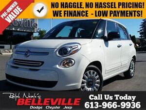 2014 Fiat 500L Pop-Manual Transmission $96 bi-Weekly!