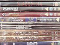 A MIXTURE OF 232 DVDS