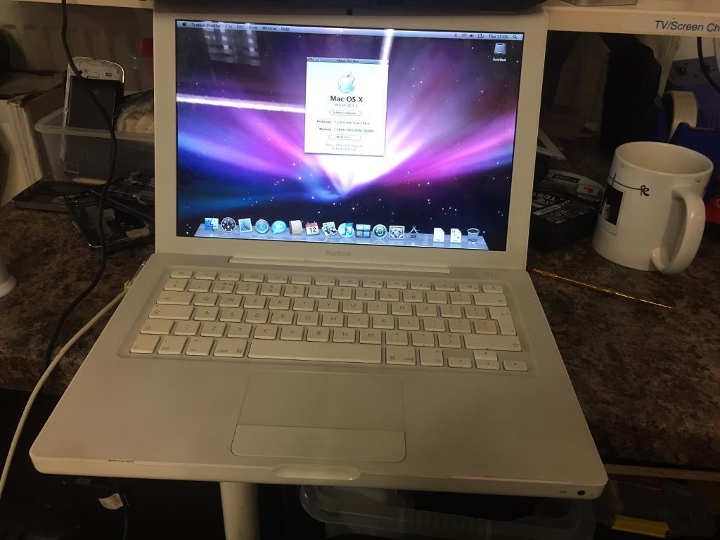 MacBook white - battery faulty and no charger