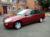 2001 ford focus 1.6 estate m o t end of the month