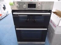 EX-DISPLAY HOTPOINT BUILT-IN DOUBLE OVEN W/GRILL REF: 31281