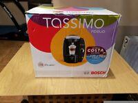 Bosch Tassimo Fidelia T40 2L Coffee Maker - Silver + PLENTY EXTRAS *BOXED*