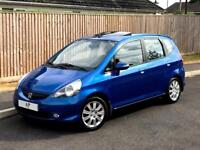 LEFT HAND DRIVE HONDA JAZZ 1.4 PETROL/7 SPEED AUTOMATIC/UK REGISTERED/ONLY 49k MILES/SUNROOF/MOT/LHD