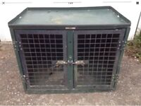 TRANS K9 TRANSIT DOG CAGE CRATE BOX. MODEL: B7. UNIVERSAL SIZE.