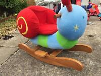 Mamas and papas musical snail rocker