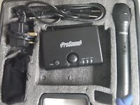 ProSound VHF Handheld Radio Mic Kit