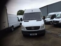 MERCEDES SPRINTER 313 CDI.2011.mwb high roof.excellent runner.1 previous owner
