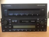 VW GAMMA RADIO AND 6 CD CHANGER