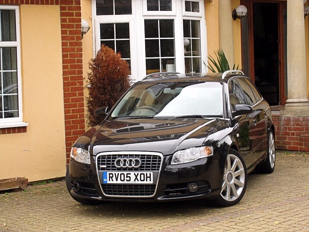 2005 audi a4 2 0 tdi s line avant auto full leather cruise. Black Bedroom Furniture Sets. Home Design Ideas
