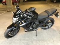 Kawasaki ER-6N 2014 low mileage