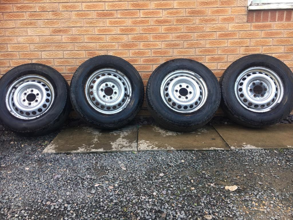(SOLD)Continental Wheels 235/ 65 R16 c