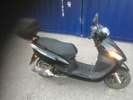 125cc scooter 64 plate