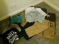 boy (aged 13/14) 17 holiday clothes... reduced