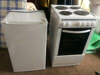 Under counter f/f & cooker for sale