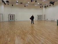 carpenter floor laying wooden floor