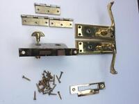 Bathroom door handles