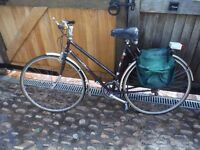 LADIES BIKE, 531 TUBING, ALLOY WHEELS, 10 SPEED, FALCON