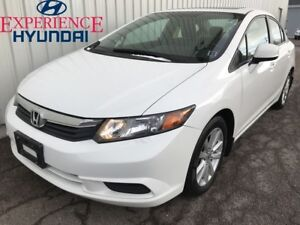 2012 Honda Civic EX AWESOME EX EDITION WITH LOW KMs AND SOLID FU