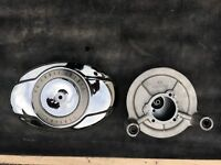 Harley Davidson air filter assembly with performance filter