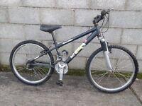 boys bike 24''raleigh aluminium frame